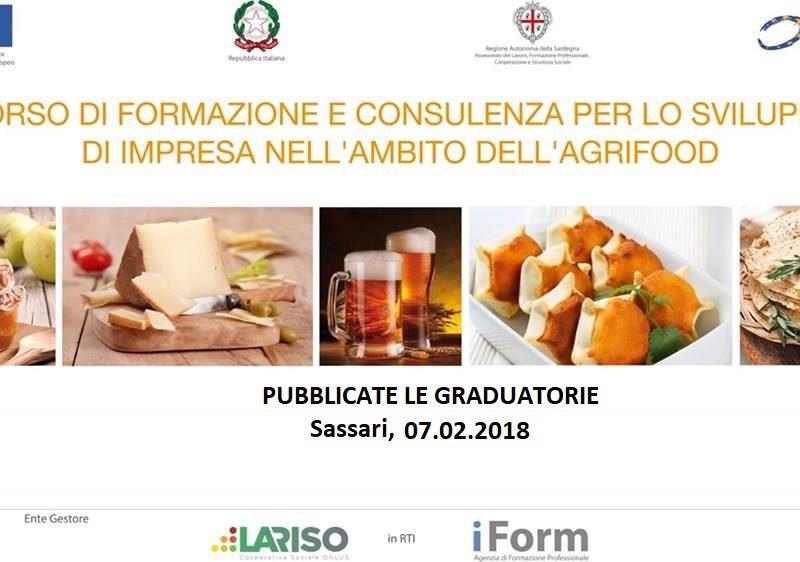 graduatorie AMIS Sassari - sviluppo impresa agrifood