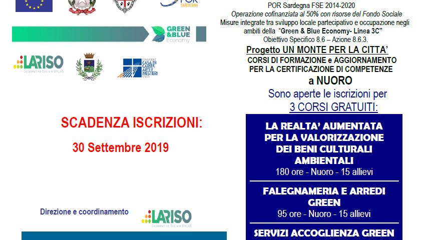 Calendario Pagamento Naspi 2020.Lariso Cooperativa Sociale Onlus Servizi Formazione Nuoro